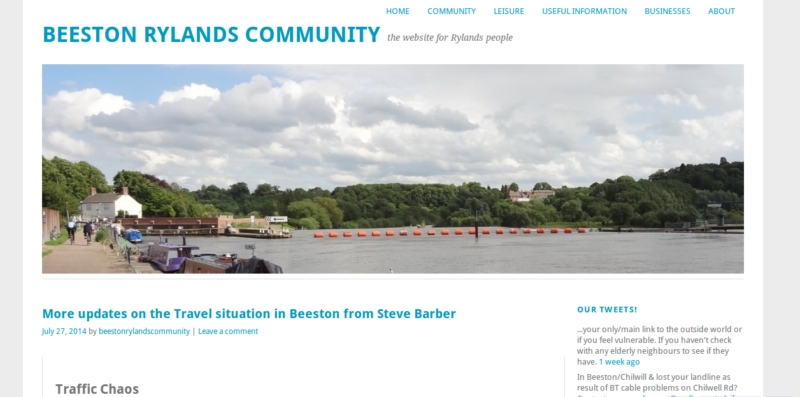Beeston Rylands home page
